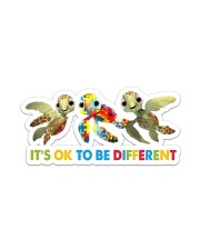 Turtle - Different Sticker - Single (Vertical) front