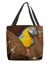 Parrot All-over Tote front