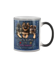 German Shepherd Life Is Better  Color Changing Mug thumbnail