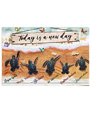Turtle - Today Is A New Day 17x11 Poster front