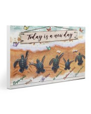 Turtle - Today Is A New Day 30x20 Gallery Wrapped Canvas Prints thumbnail