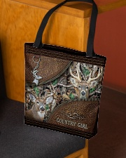 Hunting country girl All-over Tote aos-all-over-tote-lifestyle-front-02