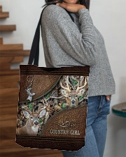 Hunting country girl All-over Tote aos-all-over-tote-lifestyle-front-09