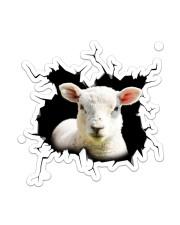 Sheep Crack Sticker - Single (Vertical) front