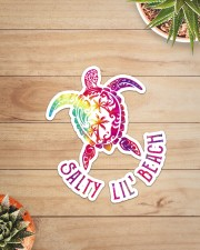 Turtle Salty Lil' Beach Sticker - Single (Vertical) aos-sticker-single-vertical-lifestyle-front-07