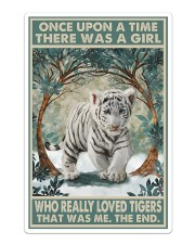 Tiger - Love Tigers That Was Me Sticker - Single (Vertical) thumbnail