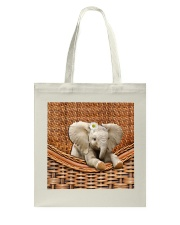 Elephant Handmade Tote Bag thumbnail