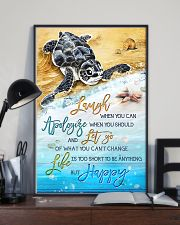 Turtle - Laugh When You Can 11x17 Poster lifestyle-poster-2