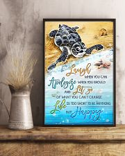 Turtle - Laugh When You Can 11x17 Poster lifestyle-poster-3