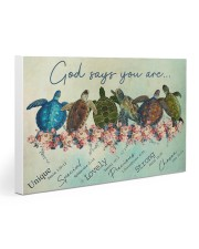 Turtle God Say You Are Gallery Wrapped Canvas Prints tile