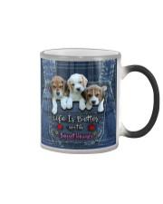 Basset Hounds Life Is Better Color Changing Mug thumbnail