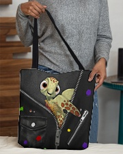 Turtle - Zip - All - Tote All-over Tote aos-all-over-tote-lifestyle-front-10