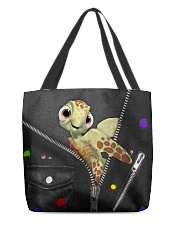 Turtle - Zip - All - Tote All-over Tote back