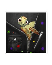 Turtle - Zip - All - Tote Sticker - Single (Vertical) thumbnail