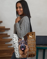 German Shepherd Kisses Fix Everything Bag All-over Tote aos-all-over-tote-lifestyle-front-08