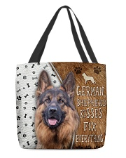 German Shepherd Kisses Fix Everything Bag All-over Tote back