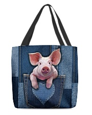 Pig Jean Pocket Tb All-over Tote front
