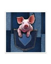Pig Jean Pocket Tb Sticker tile