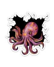 Octopus Crack Sticker - Single (Vertical) front