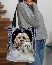 Shih Tzu Tb All-over Tote aos-all-over-tote-lifestyle-front-09