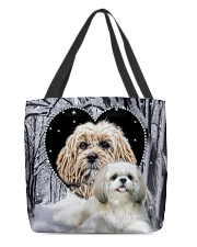 Shih Tzu Tb All-over Tote front