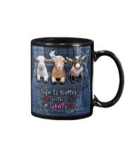 Goat Life Is Better Mug tile