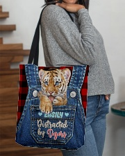 Tiger Funny All - Over Tote All-over Tote aos-all-over-tote-lifestyle-front-09