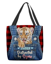 Tiger Funny All - Over Tote All-over Tote back