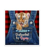 Tiger Funny All - Over Tote Sticker - Single (Vertical) thumbnail