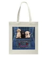 Labrador Life Is Better Tote Bag thumbnail