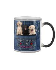 Labrador Life Is Better Color Changing Mug thumbnail