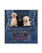 Labrador Life Is Better Sticker - Single (Vertical) thumbnail
