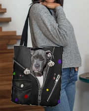 Pitbull - Zip - All - Tote All-over Tote aos-all-over-tote-lifestyle-front-09