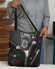 Pitbull - Zip - All - Tote All-over Tote aos-all-over-tote-lifestyle-front-10