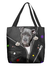 Pitbull - Zip - All - Tote All-over Tote back