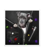Pitbull - Zip - All - Tote Sticker tile