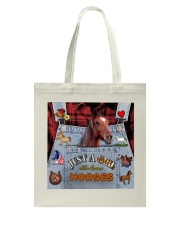 Just A Girl Who Loves Horse  Tote Bag thumbnail