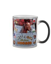 Just A Girl Who Loves Horse  Color Changing Mug thumbnail