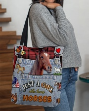 Just A Girl Who Loves Horse  All-over Tote aos-all-over-tote-lifestyle-front-09