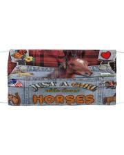 Just A Girl Who Loves Horse  Mask tile