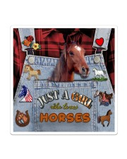 Just A Girl Who Loves Horse  Sticker - Single (Vertical) thumbnail