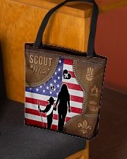 Boy Scout Mom Tote All-over Tote aos-all-over-tote-lifestyle-front-02
