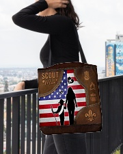 Boy Scout Mom Tote All-over Tote aos-all-over-tote-lifestyle-front-05