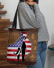 Boy Scout Mom Tote All-over Tote aos-all-over-tote-lifestyle-front-09