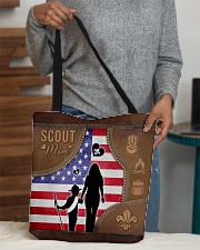 Boy Scout Mom Tote All-over Tote aos-all-over-tote-lifestyle-front-10