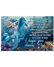 Mermaid - I Hope You Dance 17x11 Poster front