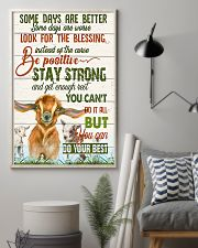 Goat Farmer - Some Days Are Better  11x17 Poster lifestyle-poster-1