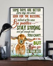 Goat Farmer - Some Days Are Better  11x17 Poster lifestyle-poster-2