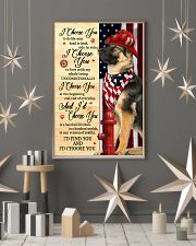 Firefighter German Shepherd I Choose You 11x17 Poster lifestyle-holiday-poster-1