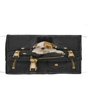 English Bulldog - Jacket Bag -Tote Cloth face mask thumbnail